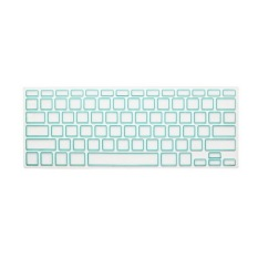 Apple Mac-book Air / Mac-book Pro JH Silicone Keyboard Cover Skin 15.4 Inch (Box White Blue 2) (Intl)