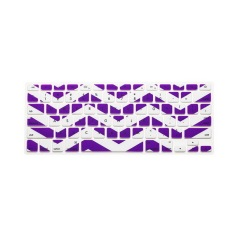 Apple Mac-book Air / Mac-book Pro JH Silicone Keyboard Cover Skin 17 Inch (Wavy Purple) (Intl)