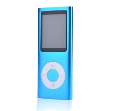 "GE 8GB 1.8""LCD Screen MP4 / MP3 Media Player with FM Radio (Blue) (Intl)"
