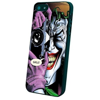 Joker Batman Killing Joke Custom Case For Iphone 5/5S/6/6 Plus(Black Iphone 5/5S) New DIY - intl