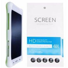 Kasing Silikon Universal Bumper Case Wadah Cover Casing - Putih + Gratis 1 Clear Screen Protector untuk Acer Liquid E600
