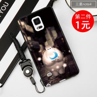 Kecil kaisar note3/note4 silikon penurunan resistensi lengan pelindung shell telepon