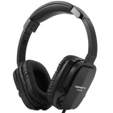 KEENION KDM - 906 Foldable Headphone With Microphone Volume Control (Black)