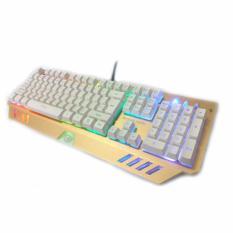 Keyboard CYBORG CKG-098 (SAMURAI) Multimedia RGB Lights With 19keys Antighost