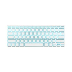 Keyboard Protective Film 15.4 Inch For Apple MacBook Air MacBook Pro (Black White Blue) (Intl)