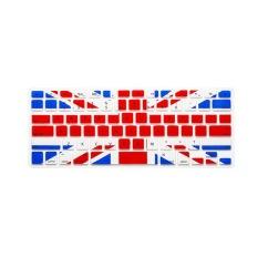 Apple Mac-book Air / Mac-book Pro Keyboard Protector 13.3 Inch (British Flag) (Intl)
