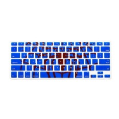 Apple Mac-book Air / Mac-book Pro Keyboard Protector 17 Inch (Blue) (Intl)
