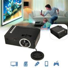 Kill Deal!!Full HD 1080P Input Multimedia Home Theater LED Mini Projector Cinema TV VGA MH - intl