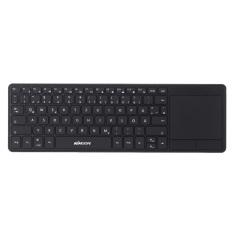 KKMOON 2.4G Wireless Ultra Slim Thin Multimedia Backlit Touch Keyboard German Deutsch DE With Touchpad Trackpad For MAC Desktop Laptop Tablet PC Smart TV
