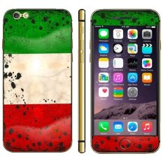 Kuwait Flag Pattern Mobile Phone Decal Stickers For IPhone 6 6S