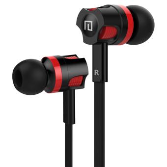 Langsdom JM26 Bakmi kawat di-telinga stereo earphone Super Bassuntuk headset dengan mikrofon telepon MP3
