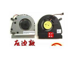 Laptop CPU Fan Cooling Fan For DELL VOSTRO 5460 V5460 V547.5470 CPU FAN Left Black