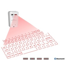 Laser Virtual Projection Bluetooth Wireless Keyboard For Phone PC Laptop Tablet - intl