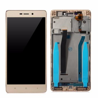 LCD Digitizer Display with Frame For Xiaomi Redmi 3 Complete LCD Display Screen Touch Panel Digitizer Repair Parts - intl