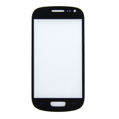 LCD Screen Front Lens Glass Cover For Samsung Galaxy S3 Mini I8190 Black