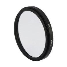 Leegoal Black Universal Aluminum Alloy 49mm UV Protection Filter For Digital SLR Camera - Intl