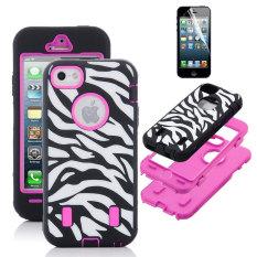 Leegoal Hot Pink 3-in-1 putih/hitam hibrida Zebra Combo keras lembut