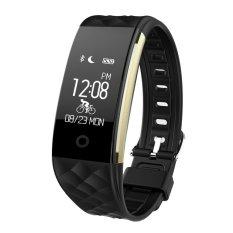 leegoal kesehatan alat pengukur langkah Bluetooth sinkronisasi gelang jam tangan ponsel pintar untuk IOS Android Samsung iPhone