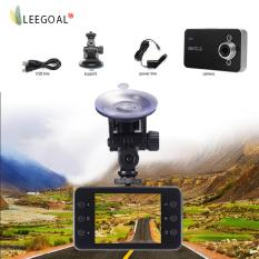 Leegoal Penglihatan Malam LCD HD Mobil Kamera Perekam Video CCTV Kecelakaan DVR (Hitam) (... ) internasional