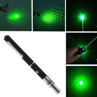 leegoal Powerful Green Laser Pointer Pen Visible Beam Light 5mW Lazer High Power 532n EA - intl
