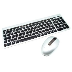 Lenovo Ultraslim Plus Wireless Keyboard and Mouse SM-8861 Lang USA - Silver