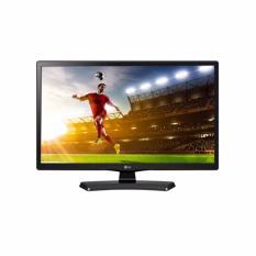 """LG LED TV 20"""" - 20MT48A - Hitam - Khusus Jabodetabek"""