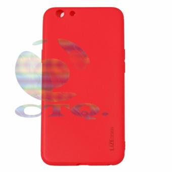 Lize Jelly Case Oppo A39 Candy Rubber Skin Soft Back Case /Softshell / Silicone Oppo Oppo A39 / Jelly Case / Ultrathin / CaseSamsung / Casing Hp - Merah / Red