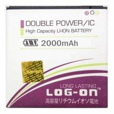 Log On Battery Baterai Double Power BST-43 SONY ERICSSON Mix Walkman - 2000mah