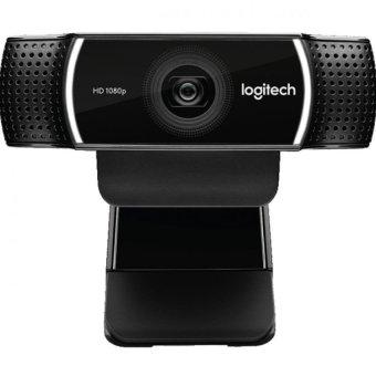 Logitech C922 Pro Stream WebCam - Hitam.