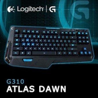 Logitech G310 Atlas Dawn Compact Mechanical Gaming Keyboard - Original - Hitam