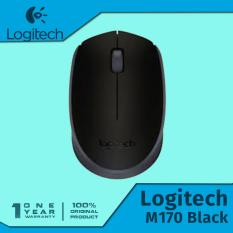 Logitech M170 Mouse Wireless / Nirkabel - Hitam
