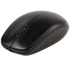 Logitech Mouse USB B100 - HItam