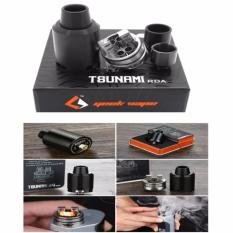 Lucky TSUNAMI RDA Geek Vape Atomizer TANK 22mm - Hitam