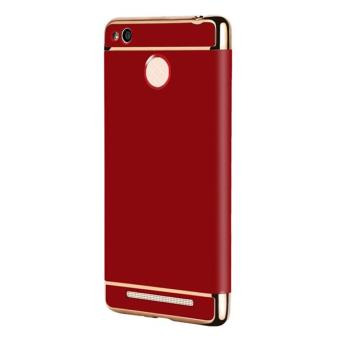 Luxury Hybrid Armor Case Hard 3 In 1 Combo Plating FrostedProtective Back Cover for Xiaomi Redmi 3s Redmi 3 Pro - intl
