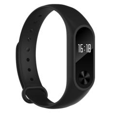M2+ OLED display Heart Rate Monitor Smartband Health Fitness Tracker for Android iOS as good as Xiaomi Mi band - intl