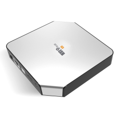 M9 Plus Android 5.1 TV Box Amlogic S90.4K Quad Core Dual WiFi 2.4GHz 5GHz HDMI Kodi Smart Media Player 2 + 16GB (Silver)