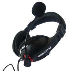 Marvo Headset Gaming H8331 - Hitam-Merah