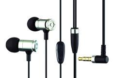 Mediatech Bullet Earphone / Earset JBM MJ 007 + Mic - Silver