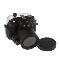 Meikon 40M Waterproof Underwater Camera Housing Case Bag For Canon 550D T2i Camera