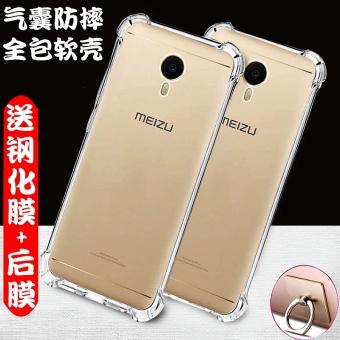 M2 Catatan International Langsing Jelas Tpu Transparan Silikon Case Pelindung Telepon Untuk Source Meizu a5 5c