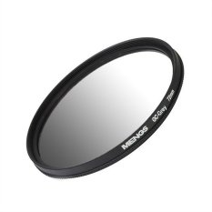 MENGS 72mm Graduated GRAY Lens Filter With Aluminum Frame For Canon Nikon Sony Fuji Pentax Olympus Etc Digital And DSLR Camera