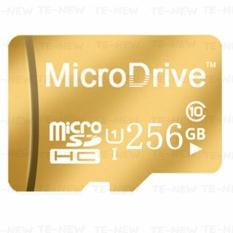 Micro Memory SD/TF Card Calss 10 256GB (Gold) - intl