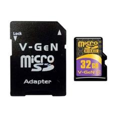 Micro SD VGEN 32 Gb Class 10 V-Gen Memory Card