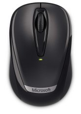 Microsoft Wireless Mobile Mouse 3000 - Hitam