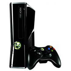 Microsoft XBOX 360 Slim - 250 GB - Full Games Include HDD - Hitam