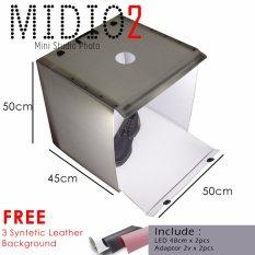 Midio 2 Portable Mini Photo Studio Set