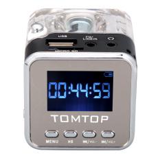 Mini Digital Portable Music MP3/4 Player Micro SD / TF USB Disk Speaker FM Radio Black