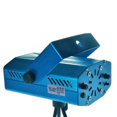 Mini Laser Stage Lighting Projector Light For Music Party Club Disco DJ KTV Blue