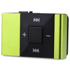 Mini Portable Clip MP3 Music Audio Player With TF Card Insert - Intl