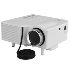 Mini Portable LED Projector Cinema Theater PC Laptop HDMI AV / VGA / USB / SD White
